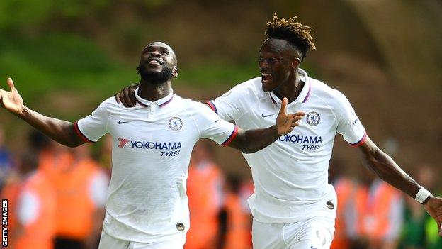 LAMPARD WARNS ABRAHAM, TOMORI  AGAINST COMPLACENCY  AFTER ENGLAND CALL-UP
