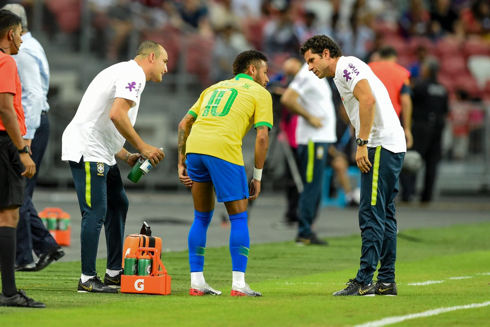 NEYMAR OUT FOR FOUR WEEKS AFTER SUFFERING HARMSTRING INJURY AGAINST SUPER EAGLES
