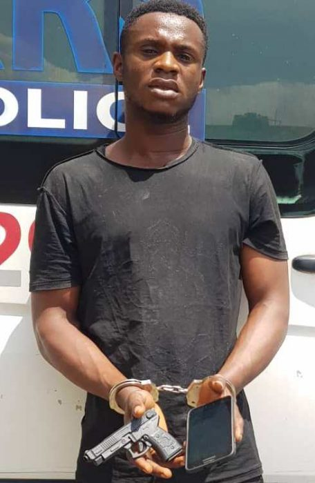 BUSTED: CHURCH PROTOCOL OFFICER BLACKMAILING GIRLS WITH THEIR NUDE PICTURES ARRESTED