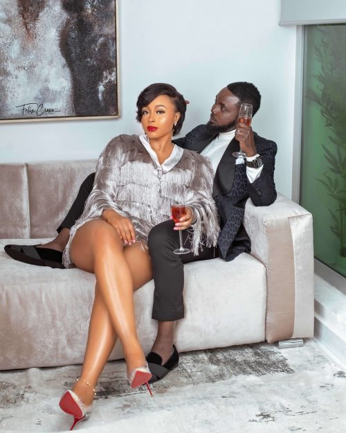 AY, MABEL MARK 11TH ANNIVERSARY WITH LOVELY PICTURES