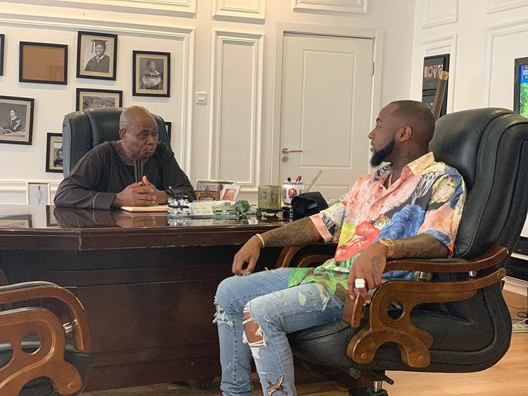 'I AM VERY PROUD OF YOU' – DAVIDO'S FATHER PRAISES HIM AFTER SOLD OUT CONCERT
