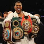 JOSHUA TO PRESENT WORLD CHAMPIONSHIP BELTS TO BUHARI SOON