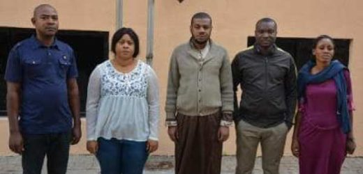 EFCC RELEASES LIST OF FIVE SUSPECTS OVER N1.8M VISA FRAUD