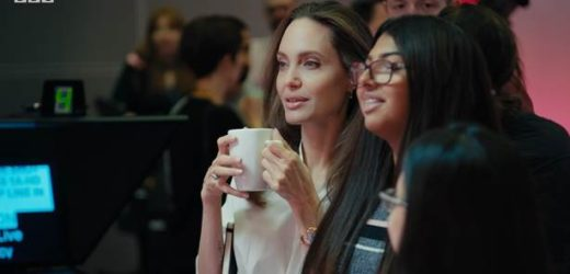 ANGELINA JOLIE SET TO PRODUCE SHOW FOR YOUNG PEOPLE ON BBC