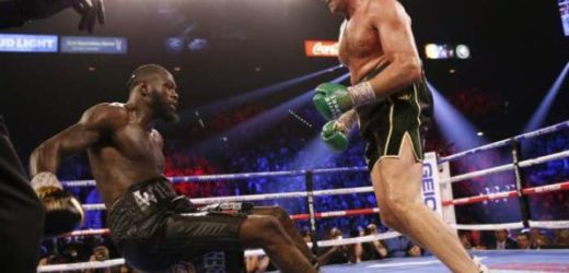 PHOTO NEWS: TYSON FURY KNOCKS OUT WILDER IN 7TH ROUND