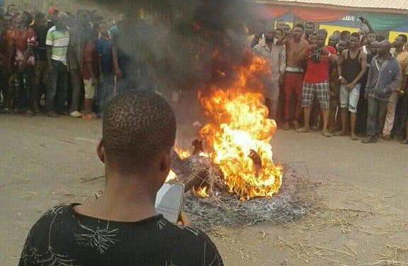 JUNGLE JUSTICE: FEMALE NATIVE DOCTOR, THREE OTHERS BURNT TO DEATH