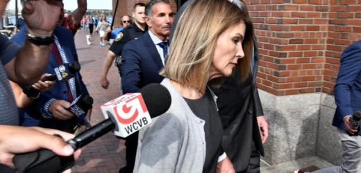 HOLLYWOOD ACTRESS LORI LOUGHLIN FACES TRIAL FOR COLLEGE ADMISSIONS FRAUD