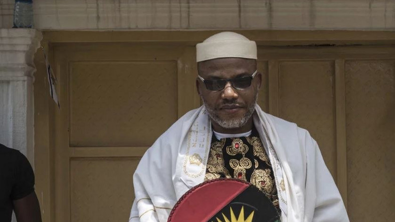 OHANAEZE YOUTHS WARN POLICE TO STAY AWAY FROM KANU'S PARENTS' BURIAL