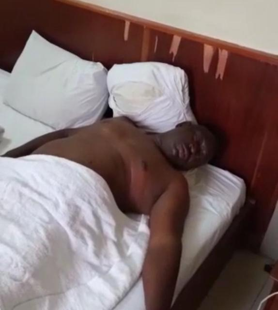 VIDEO: MAN DIES IN LAGOS HOTEL AFTER SEX WITH WOMAN