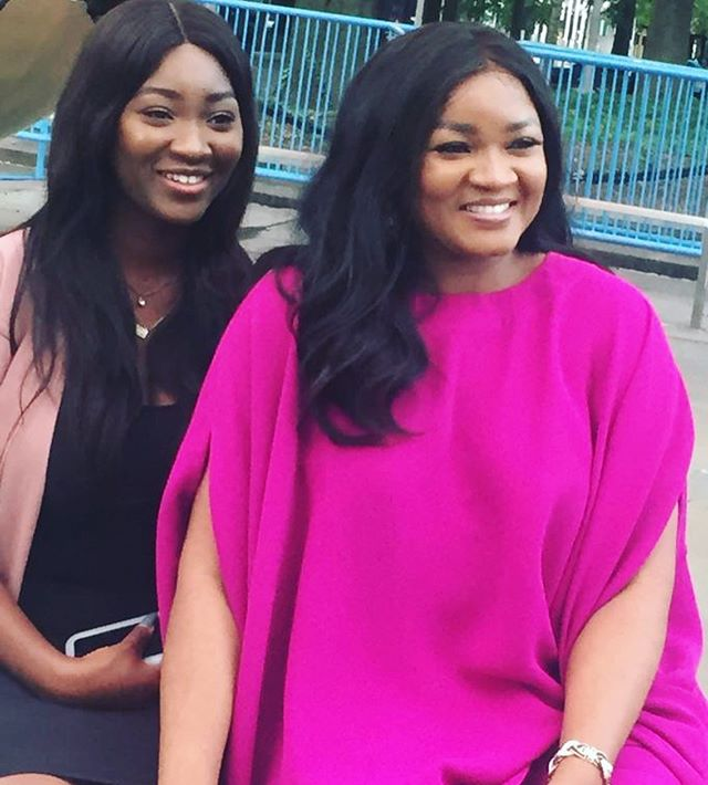 PICTURES: OMOTOLA JALADE EKEINDE & DAUGHTER ARE A YEAR OLDER