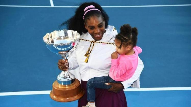 SERENA WILLIAMS SPEAKS ABOUT BEING A 'WORKING MOM'