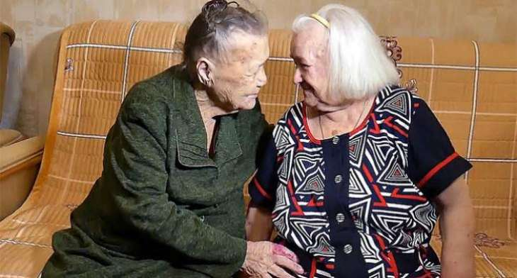 2 SISTERS REUNITE AFTER 78 YEARS