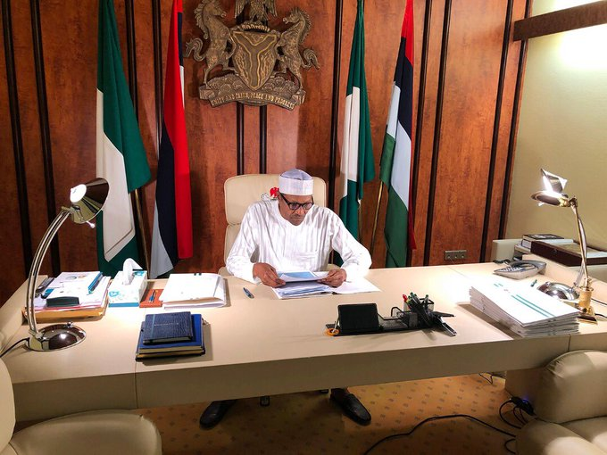 WHERE IS BUHARI? PRESIDENCY RELEASES PHOTO