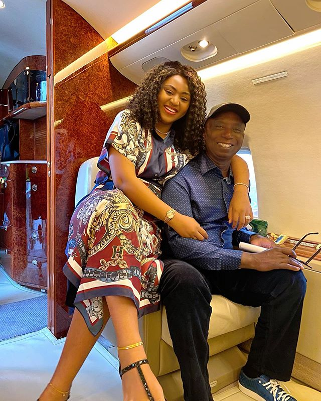 REGINA DANIELS & NED NWOKO CAN'T KEEP OFF EACH OTHER