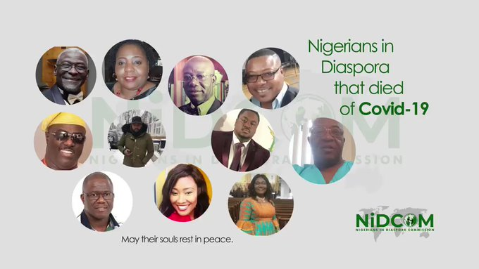 FG RELEASES NAMES, PHOTOS OF 13 NIGERIANS WHO DIED OF CORONAVIRUS IN UK, US