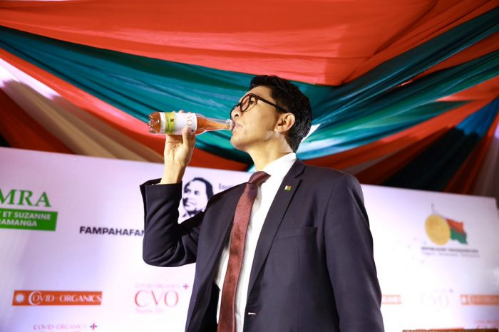 MADAGASCAR LAUNCHES MIRACLE DRINK FOR CORONAVIRUS INFECTION