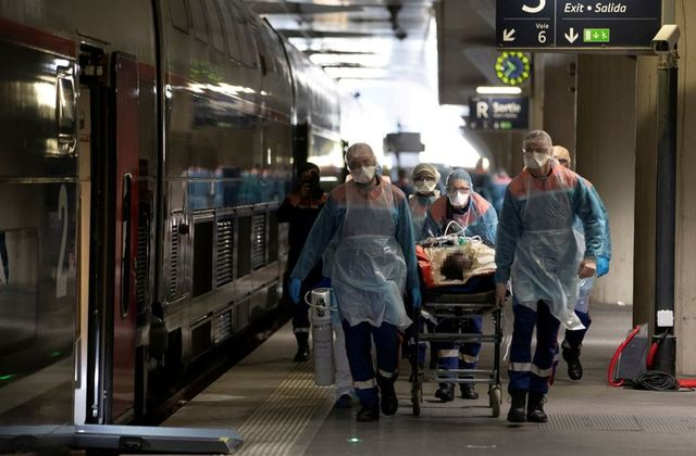NO RESPITE FOR FRANCE: CORONAVIRUS DEATHS SURGE TO 833 IN 24-HOUR