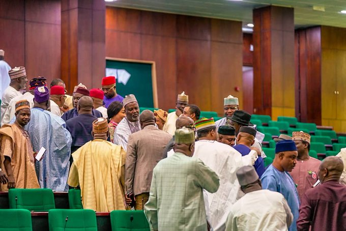 HOUSE OF REPS DEFAULTS IN DONATING TO COVID-19 FUND