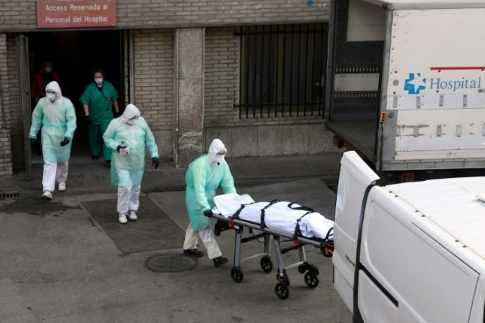 SPAIN SETS WORLD RECORD WITH 950 CORONAVIRUS DEATHS IN ONE DAY