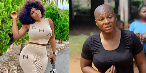 I AM PAINED, HEARTBROKEN FOR LOSING MY FATHER – NOLLYWOOD ACTRESS DESTINY ETIKO