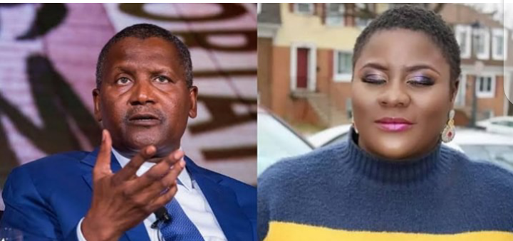WHY I CAN NOT MARRY MAN LIKE DANGOTE – NOLLYWOOD ACTRESS REVEALS
