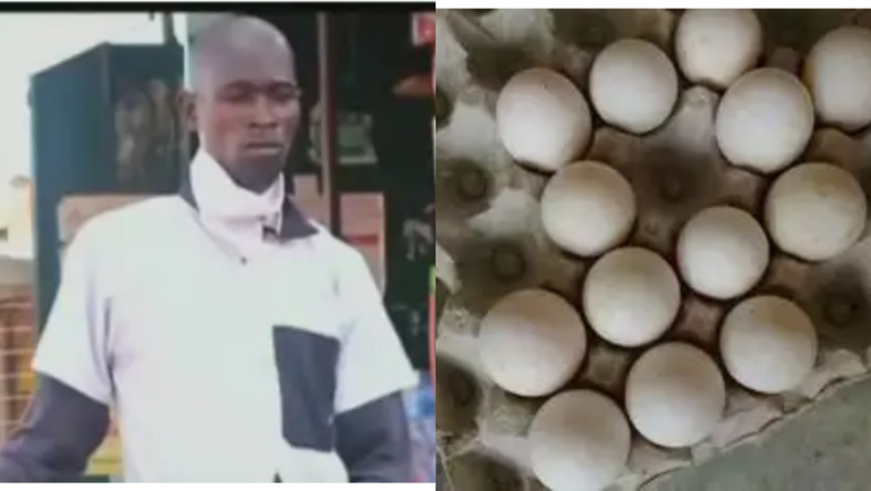 PASTOR SELLS EGGS IN THE STREETS TO FEED 6 CHILDREN AS HE AWAITS REOPENING OF CHURCHES