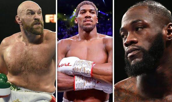 'HE WILL KNOCK OUT ANTHONY JOSHUA IN ROUND ONE'- TYSON FURY DISMISSES AJ'S CHANCES AGAINST DEONTAY WILDER