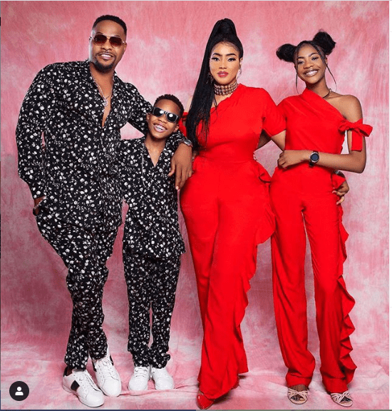NOLLYWOOD ACTOR NINALOWO BOLANLE SHARES BEAUTIFUL FAMILY PHOTO
