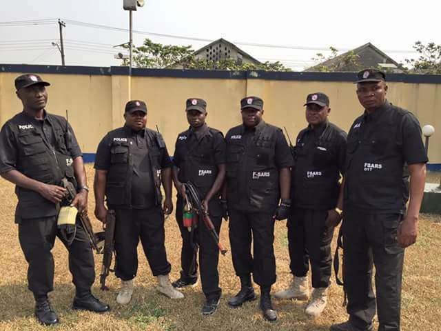 SARS OPERATIVES KILL SEVEN POLICE OFFICERS IN ROBBERY ATTACK