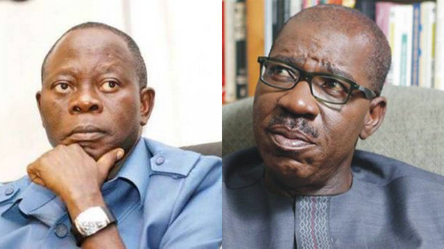 PDP LEADERS PROVIDED THE MATERIALS WE USED TO DISQUALIFY OBASEKI – OSHIOMHOLE