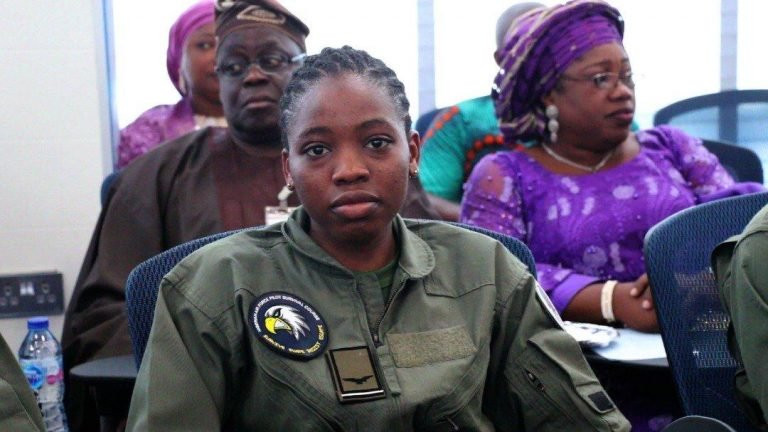 Description: Nigerian Air force?s first female combatant helicopter pilot dies eight months after special recognition