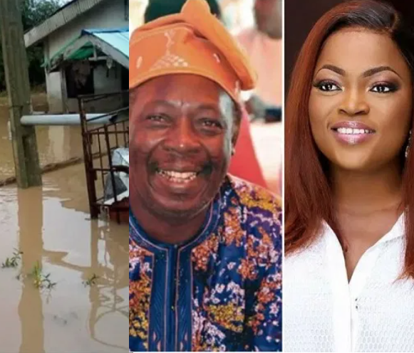 FUNKE AKINDELE GIFTS PA JAMES AN APARTMENT AFTER FLOOD TOOK OVER HIS HOME FOR THE SECOND YEAR IN A ROW