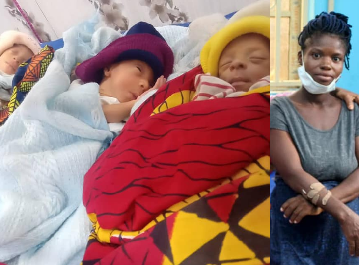 20-YEAR-OLD WOMAN RAPED WHILE HAWKING DISCOVERS DURING DELIVERY THAT SHE'S HAVING TRIPLETS