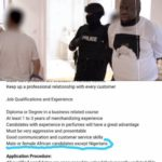 DUBAI JOB AGENCY BARS NIGERIANS