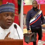 BUKOLA SARAKI DISTANCES HIMSELF FROM HUSHPUPPI FOLLOWING APC'S CALL FOR AN INVESTIGATION INTO HIS ALLEGED LINK WITH THE SUSPECTED FRAUDSTER