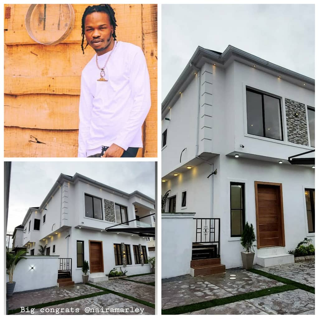 NAIRA MARLEY ACQUIRES ANOTHER PROPERTY IN LAGOS (PHOTOS)