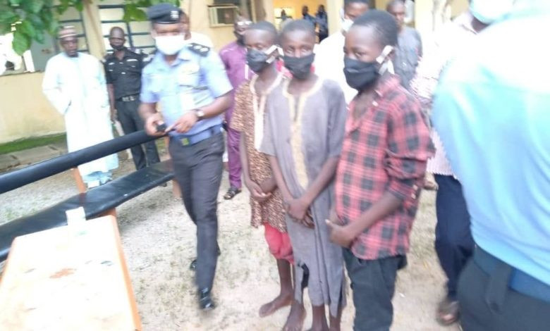 HEARTBREAKING VIDEO OF THREE TEENAGE BOYS RECOUNTING HOW THEY RAPED A 13-YEAR-OLD GIRL IN KATSINA