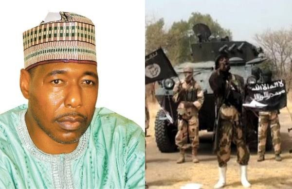 BOKO HARAM'S ULTIMATE WISH IS TO TAKE OVER BORNO – GOVERNOR ZULUM SPEAKS AFTER BEING ATTACKED BY THE INSURGENTS