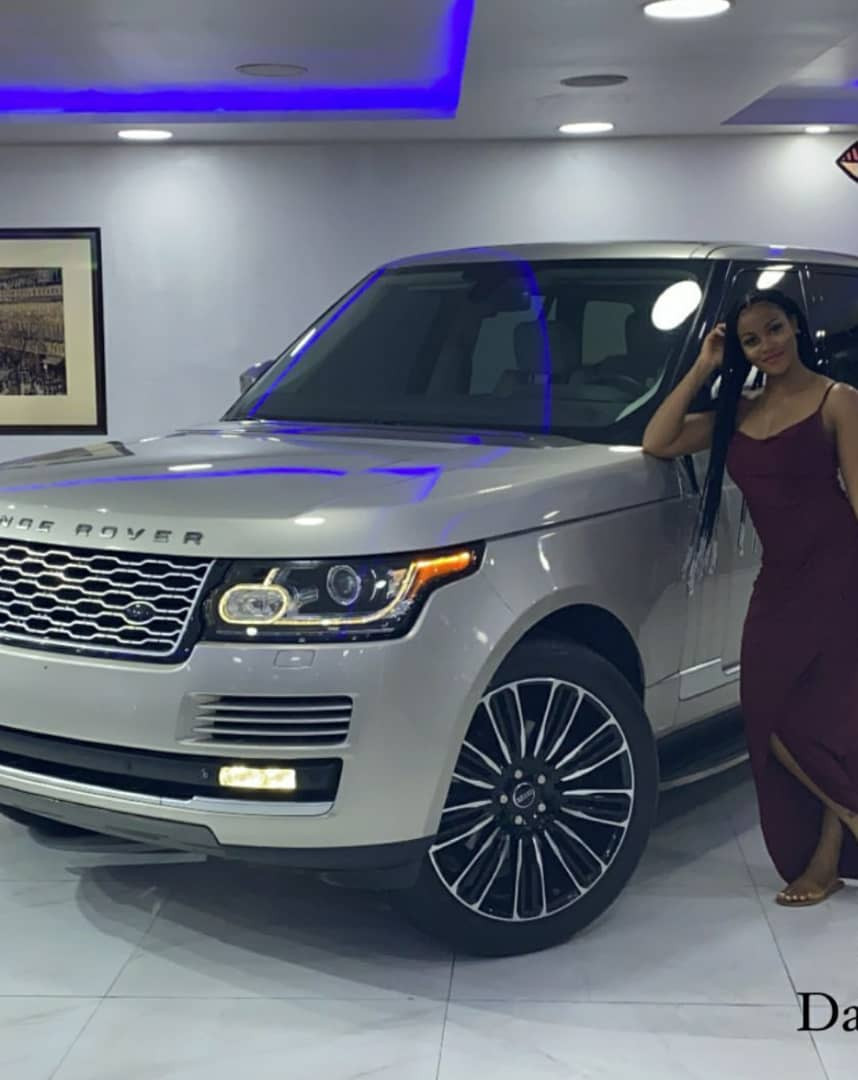 ACTRESS DAMILOLA ADEGBITE ACQUIRES A RANGE ROVER PHOTOS