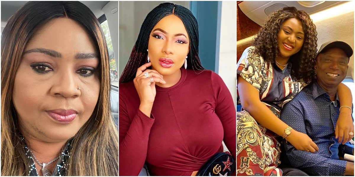 """LEAVE MY DAUGHTER'S HUSBAND ALONE"" – REGINA DANIELS MOTHER CALLS OUT CHIKA IKE"