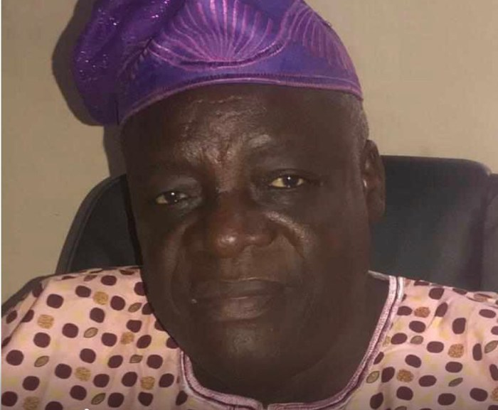 VETERAN ACTOR AND LECTURER, PROF. AYO AKINWALE IS DEAD