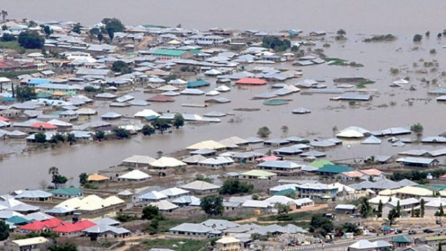 Flood submerges 50 houses in Niger