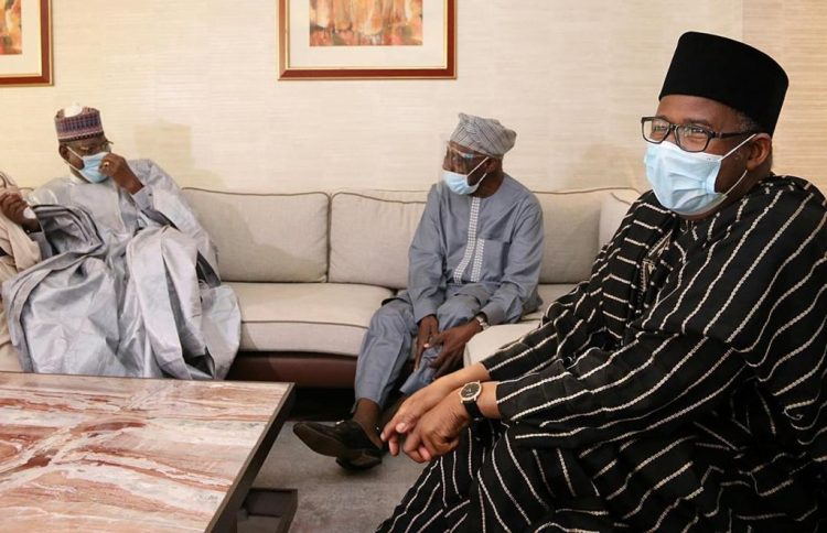 2023 BATTLE: PDP LEADERS VISIT OBASANJO, JONATHAN, OTHERS