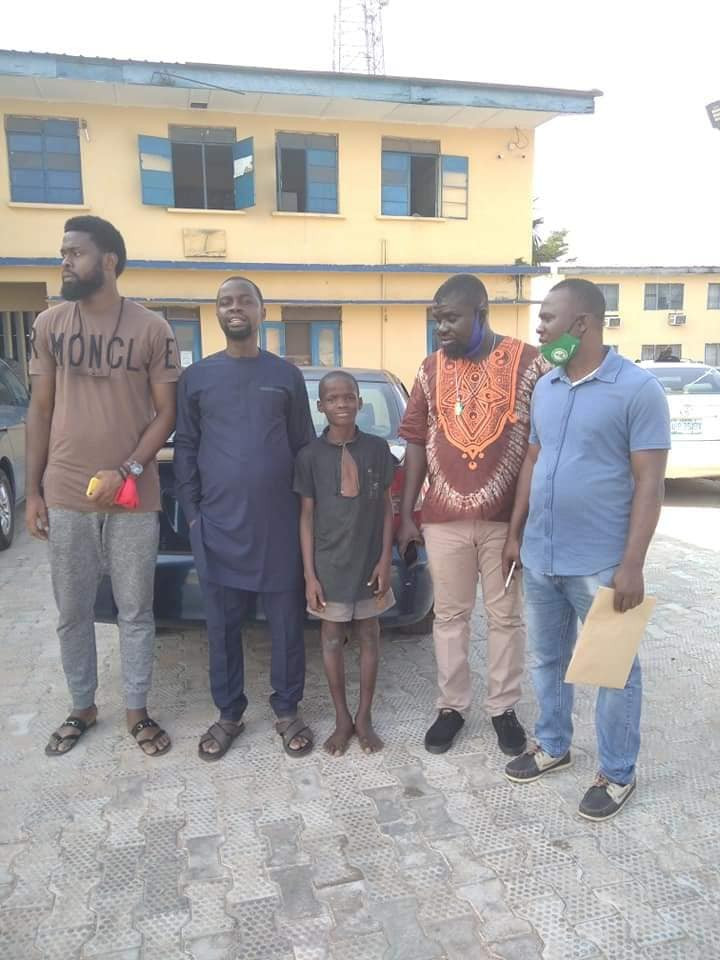 POLICE RELEASE 11-YEAR-OLD BOY ARRESTED OVER HIS ALLEGED INVOLVEMENT IN ATTACK ON EDO POLICE STATION