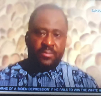 DESMOND ELLIOT ALMOST BREAKS DOWN IN TEARS AS HE REFLECTS ON THE WANTON DESTRUCTION OF PROPERTIES HE WITNESSED AFTER TAKING A TOUR OF HIS CONSTITUENCY