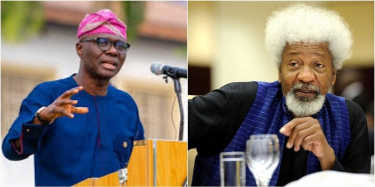 LEKKI SHOOTING: MY ENQUIRY INDICATES SANWO-OLU DIDN'T INVITE ARMY – SOYINKA