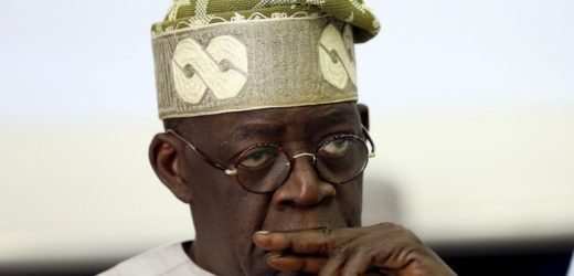 MASSIVE CROWD STORMS TINUBU'S RESIDENCE IN LONDON (VIDEO)