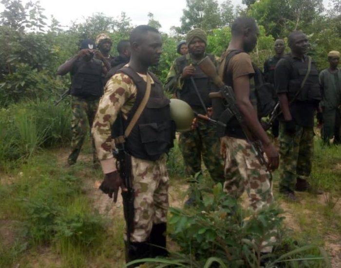 TROOPS KILL 38 BANDITS, RESCUE 108 VICTIMS IN N/WEST