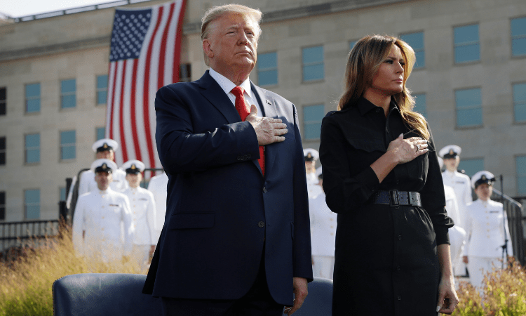 PRESIDENT TRUMP AND FIRST LADY MELANIA CONTRACT COVID-19