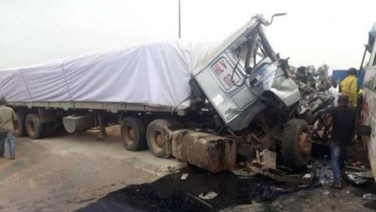TRUCK CRUSHES 10 TO DEATH AFTER BREAK FAILURE IN ONDO